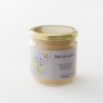 Pot de miel de 500g de Luzerne