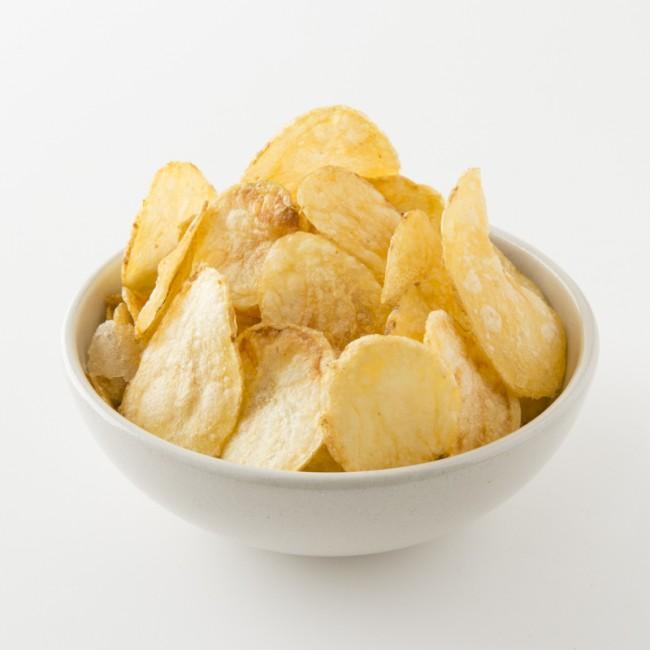 Bol de chips au sel de l'Ile de Ré
