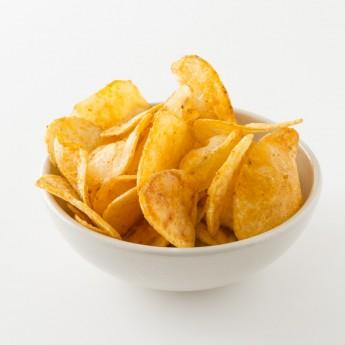 Bol de chips au piment d'Espelette.