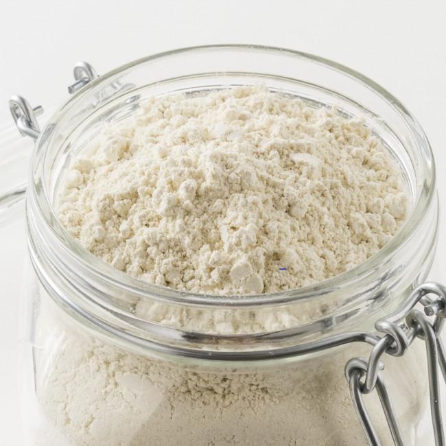 Détail de la farine de petit épeautre