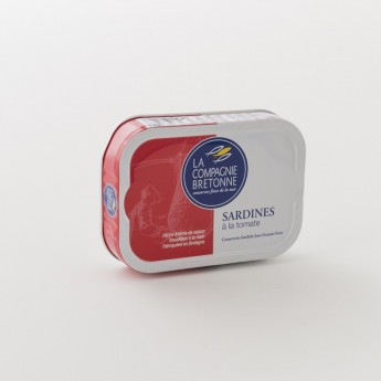 Boite de sardine à la tomate