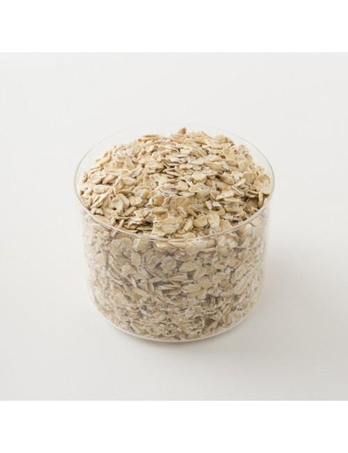 flocons d'avoine en vrac par 100 g