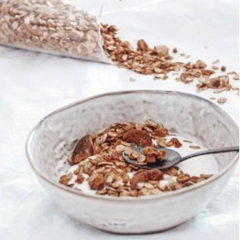 muesli bio noix et beurre de cacahuètes 400g